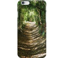 Walk your own path iPhone Case/Skin