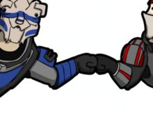 Bro's 4 life - Mass Effect Sticker
