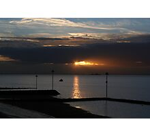 Southend Sunrise3 Photographic Print