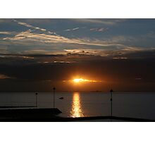 Southend Sunrise1 Photographic Print