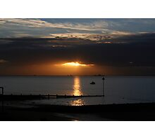 Southend Sunrise5 Photographic Print