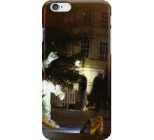 Street performer in Bath UK iPhone Case/Skin
