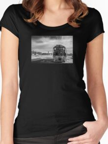 Cape Charles. Women's Fitted Scoop T-Shirt