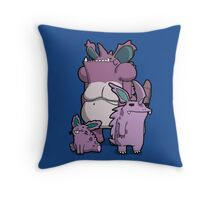 Number 32, 33 and 34 Throw Pillow