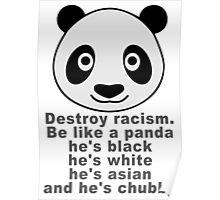 Be like a panda Poster