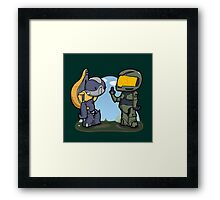 Poor missunderstood grunt... Framed Print