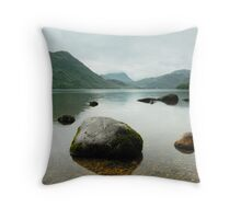 Ullswater in colour Throw Pillow