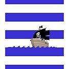 Pirate Stripes by Jonah Block
