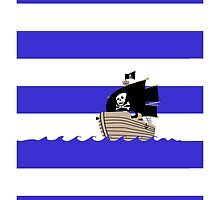 Pirate Stripes by Jonah Block