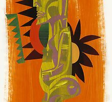 Rarotongan Tiki by Michael Lothian