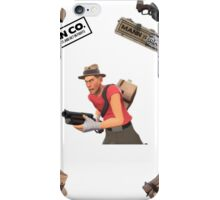 Team Fortress 2 Scout Cover iPhone Case/Skin