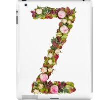 Capital Letter Z Part of a set of letters, Numbers and symbols iPad Case/Skin