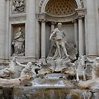 Trevi Fountain 2 by Oliver  Andrews