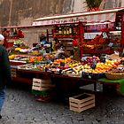 Fruit Stall by Oliver  Andrews