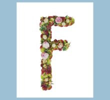 Capital Letter F Part of a set of letters, Numbers and symbols Kids Clothes
