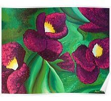 Textured Violet Poster