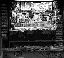 News stand by Geoff White