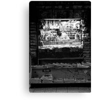 News stand Canvas Print