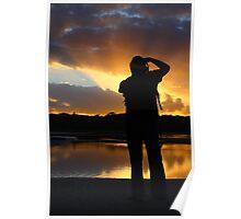 Sunset Photographer Poster