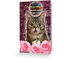Burger BB Bub Greeting Card
