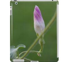 Elegant Morning Glory Bud  iPad Case/Skin