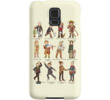 The Twelve Doctors of Christmas Samsung Galaxy Case/Skin