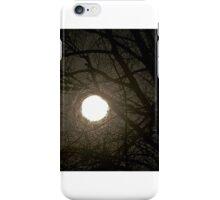 Moonlight spiderweb iPhone Case/Skin