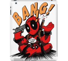 BANG! DEADPOOL! iPad Case/Skin