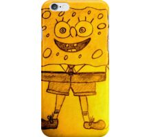 SPONGE BOB iPhone Case/Skin