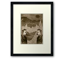 Nietzsche, Meet Nietzsche (In the Black Forest) Framed Print
