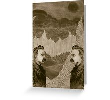 Nietzsche, Meet Nietzsche (In the Black Forest) Greeting Card