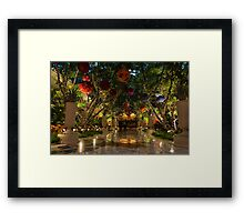 Sparkling, Merry, Exuberant Decorations Framed Print