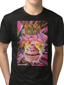 QUEEN CUPCAKE Tri-blend T-Shirt