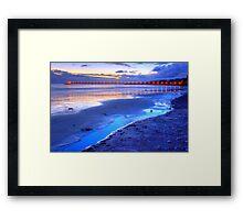 Bacara (Haskell's ) Beach, Santa Barbara Framed Print