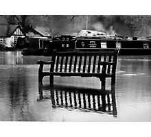 The River Thames Floods!  Photographic Print