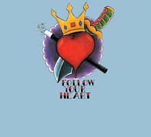 Follow Your Heart Tattoo Flash Unisex T-Shirt