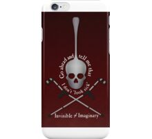 Invisible Not Imaginary iPhone Case/Skin