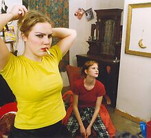 Swedish Girls at Home in Dublin by Philip  Rogan