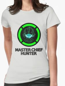 Master Chief Hunter - Achievement Hunter & Halo Mix Womens Fitted T-Shirt