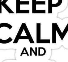 Keep Calm and Bill Murray Sticker