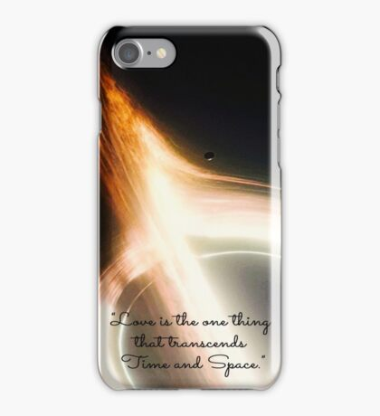 """Love is the one thing"" Interstellar iPhone Case/Skin"