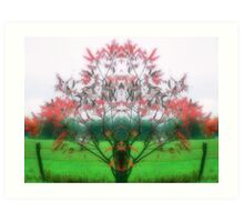 Autum Mist Art Print