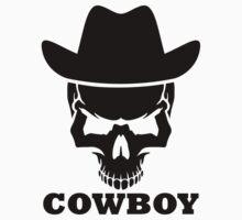 Cowboy skull by Designzz