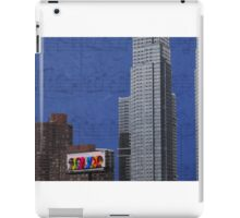 The Music Never Stops iPad Case/Skin