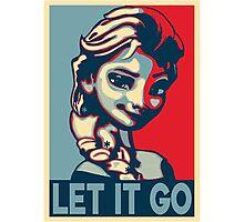 Let It Go Photographic Print