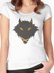 SMITE - Fenrir Simple Women's Fitted Scoop T-Shirt