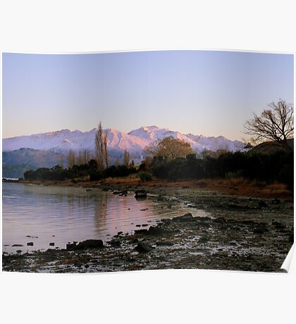 Winter Paradise... - Sunrise Wanaka - NZ Poster