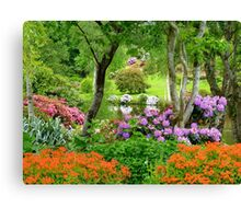 The Best Garden In NZ - Maple Glen - Southland Canvas Print