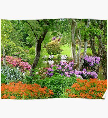 The Best Garden In NZ - Maple Glen - Southland Poster