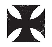Iron cross in black. Photographic Print